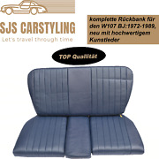 Back Seat Emergency Seats Childand039s Seat For Mercedes Sl R/w107 Blue High Quality