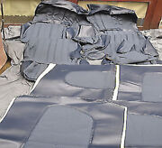 Seat Covers For Mercedes W123 Coupe 3. Series Pad Code 052 Blue