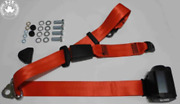 Dreipunkt Seat Belt Set Rear For Volvo Classic Car From 74 Red New