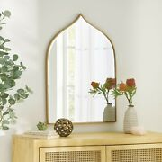 Mckay Contemporary Bell Shaped Wall Mirror