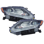 Headlights Set Led Without Auto Level Control Capa For 2014-2016 Rogue