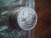 Morgan And Peace Silver Dollars Random Condition And Year