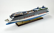 Celebrity Silhouette Solstice-class Handmade Cruise Ship Model 40.5 With Lights