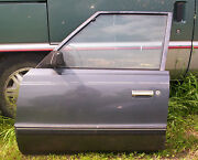 87 Plymouth Reliant Left  Front  Door  --check This Out--