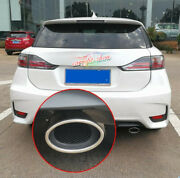 For Lexus Ct 200h 2012-2017 Stainless Steel Rear Exhaust Muffler Tip End Pipe