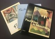 Collection Of Letters And Catalogues Related To Paul Klee Signed By His Son
