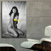 Eb023 Bettie Page Pin Up Models Erotic Classic Hollywood
