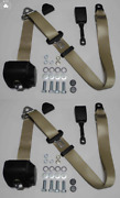 Dreipunkt Automatic Seat Belt Set For Mg Mga Mgb Td And Others Beige 16cm