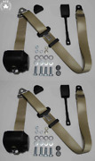 Dreipunkt Automatic Seat Belt Set For Mg Mga Mgb Td And Others Beige 22cm