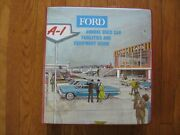 1964 Ford Used Car Dealer Sales Manual Signs Advertising Gas Pumps Tools A-1