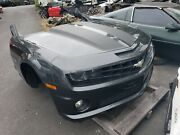 10-13 Camaro Ss Complete Front End Body Clip With Hood Fenders Bumper Gray