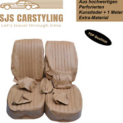 Seat Covers Front Seat For Mercedes Sl R / W107 Slc Dattel Up To Year 84