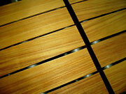 Ten 10 Pieces Kiln Dried Sanded Thin Canarywood Lumber Wood 12 X 3 X 1/4