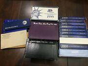 Us Half A Century Of Proof Sets - Mint Condition 60 - 09 W Sms