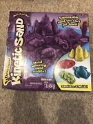 New Kinetic Sand. Sand Box And Molds. Acky-tivities. Purple. Stress Reliever Too