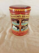 Barnums Animals National Biscuit Company 1979 Collectible Tin Animal Crackers
