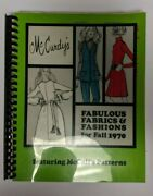 Mccurdys Fabulous Fabrics And Fashions For Fall 1970 Featuring Mccalls Patterns