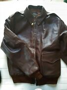 A-2 House Eastman Size 38 Seal Brown Color Horsehide