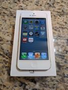 Apple Iphone 5 - 16gb - White And Silver Sprint A1429 Gsm