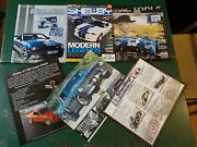 Shelby 2010 Annual And Catalog, Brochures Super Snake Eleanor Mac Tools Lot Of 6