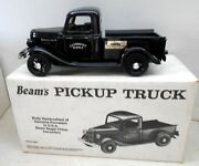 1935 Ford Clermont Pickup Truck Jim Beam Regal China Decanter Bottle W/box 1988