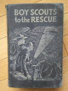 Vintage Boy Scouts To The Rescue By Leonard K. Smith 1st Edition 1939 Bsa