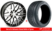 Alloy Wheels And Tyres 19 Zito Zf01 For Mercedes Gl-class [x164] 06-12