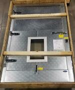 New Norlake Triple Hinge 60 X 51 Cooler Door With Digital Thermomenter 1
