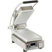 Star Pst7e Pro-max 9.5 Panini Grill Smooth Aluminum Plate W/ Timer