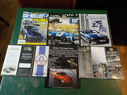 Shelby 2009 Annual And Catalog, Brochures Super Snake Eleanor Mac Tools Lot Of 6
