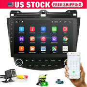 10.1and039and039 Touch Screen Car Radio Gps For Honda Accord 2003-2007 Android 9.1 Usa
