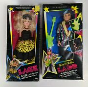 1986 Creata Lace Doll The Celebrity Rock Star With Fashion Fame Glow Ladd