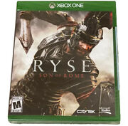 Ryse Son Of Rome Microsoft Xbox One 2013 New Sealed Game Never Opened.