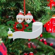 2020 Xmas Christmas Hanging Ornaments Family Personalized Ornament Tree Party De