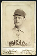 Sam Dungan, Chicago Colts Cabinet Card C.1892-94 Type 1