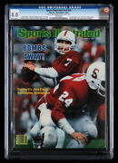 Sports Illustrated Volume 57 Issue 20 First John Elway Cover Cgc 8.0