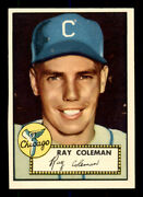 1952 Topps 211 Ray Coleman Nm