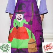 2 Pcs Halloween Party Decoration Apron Halloween Decorationsold Witch New