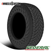 1 X New Federal Couragia S/u 255/70r16 111h All-season Highway Tire