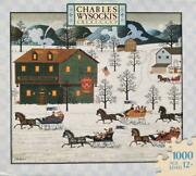 Country Race Vintage Charles Wysocki 1000 Pc Puzzles - New And Sealed