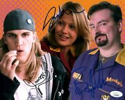 Mewes O'halloran Adams Clerks Signed Autographed 8x10 Photo Jsa Certified Coa