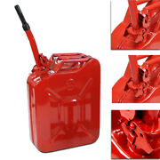 Fuel Can 5 Gallon 20l Steel Gasoline Gas Fuel Tank Military Emergency Backup