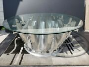 Pratt And Whitney Jt8d Engine - Exhaust Mixer Custom Coffee Table - Boeing Table