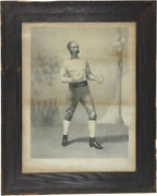 19th Century John B. Bailey Professor Of Sparring Lithograph