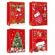 Kids Party Favor Box New Christmas Candy Gift Bags Holiday 3d Paper Decorations