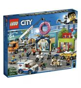 Lego City Donut Shop Opening 60233 Store Building Kit W Toy Vehicles Free Ship