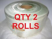 Woven Roving Fiberglass Tape 2 Roll Clearance 150m / 500and039 X 4 10 Oz 10.58 Oz