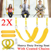 2x Heavy Duty Swing Seat Set Replacement Swings Slides Outdoor Gyms Accessories