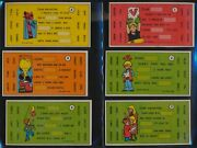 1971 Topps Nice Or Nasty Valentines Exmt Complete 33 Card Set + Postcard 58093