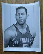 Guy Rodgers San Francisco Warriors Basketball 8x10 Photo Ca. 1965 Team Issue